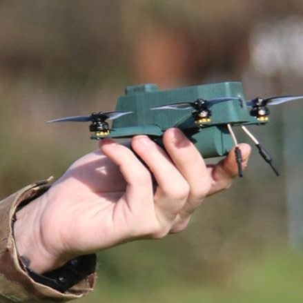nano drone defensie army military